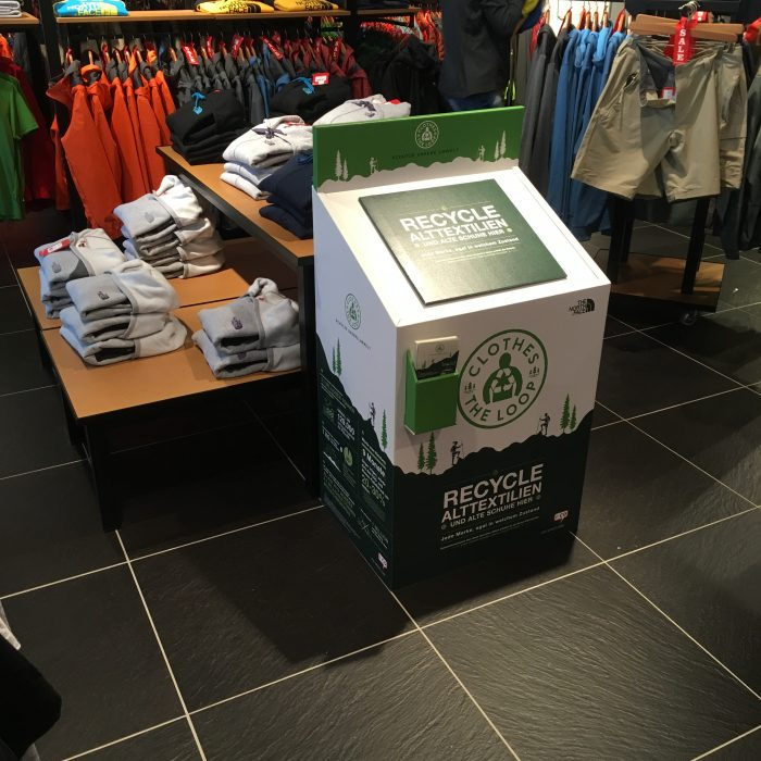 Collection Box at The North Face Store