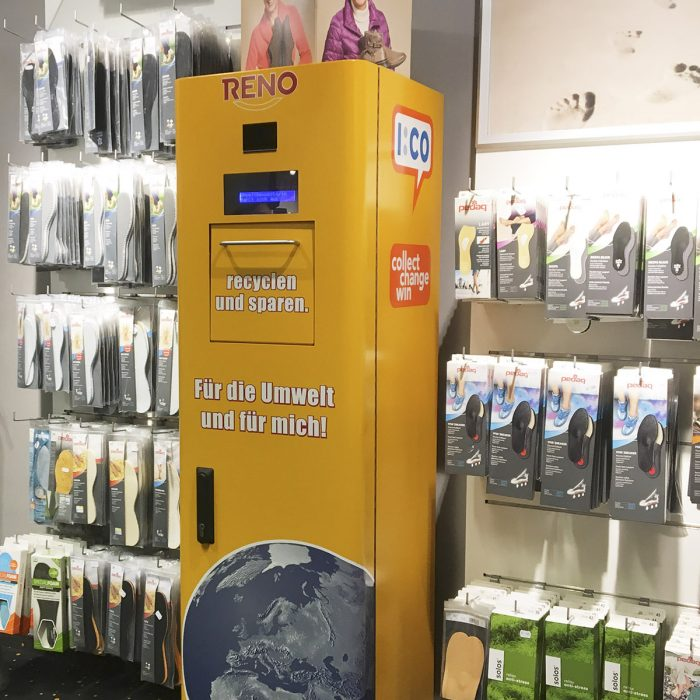Collection Box at Reno Store